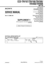 Buy Sony CCD-TRV107ETRV108E TRV208ETRV408E (6) Service Manual by download Mauritron