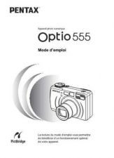 Buy PENTAX OPTIO555 FRE OPM CAMERA INSTRUCTIONS by download #119112