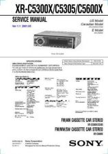 Buy Sony XR-C5300XC5305C5600X Service Information by download Mauritron #238374