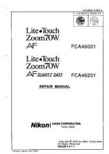 Buy NIKON Lite Touch Zoom70W Repair Manual by download Mauritron #266056