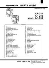 Buy Sharp AR280-285-335 SM DE(1) Service Manual by download Mauritron #208107