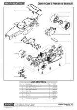 Buy Scalextrix No.469 Disney Cars Francesco Service Sheets by download Mauritron #2