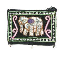 Buy Authentic Thai Handmade Cute Elephant Coins/Cosmetic Small Bag Purse
