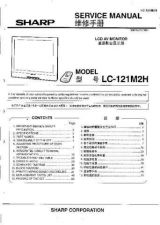 Buy Sharp LC121M2H-150M2H SM SUPPLEMENT GB-JP(1) Service Manual by download Mauritr