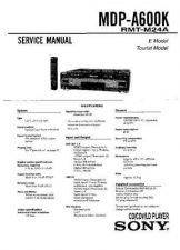 Buy Sony MDP-A660K-K50 Service Manual. by download Mauritron #242446