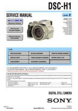 Buy Sony DSC-H1-3 Service Manual by download Mauritron #231912