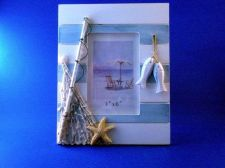 Buy Picture frame 4 x 6 coastal / nautical themed