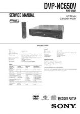 Buy Sony DVP-S336S345S360S365 Manual by download Mauritron #228815