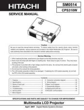 Buy Sony CP-X253EF Service Manual by download Mauritron #231785