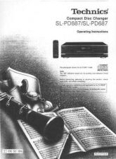 Buy Panasonic SLPD887 Operating Instruction Book by download Mauritron #236500