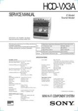 Buy SONY HCD-W550 Technical by download #104975