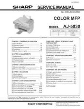 Buy Sharp AJ-2000 Service Manual by download Mauritron #230863