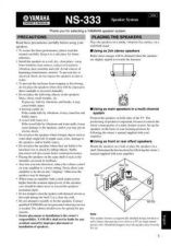 Buy Yamaha NS-300X Operating Guide by download Mauritron #248960