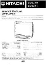 Buy Hitachi C2564TN-C2864TN] Service Manual by download Mauritron #263412