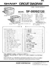 Buy Sharp SF2020-2120 PG GB Service Manual by download Mauritron #209623