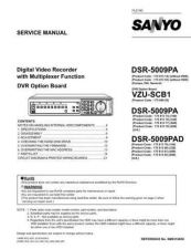 Buy Fisher Service Manual For DSR-5009PA PAD by download Mauritron #217082