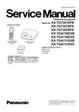 Buy Panasonic KX-TG7321SPS KX-TGA731EXS by download Mauritron #267434