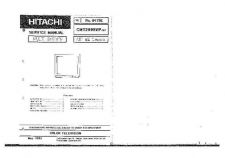 Buy Hitachi CMT-2985 Service Manual by download Mauritron #260785