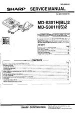 Buy Sharp MDS301H2 Service Manual by download Mauritron #210110