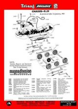 Buy Triang Tri-ang No.009A Chassis R59 Service Sheets by download Mauritron #206205
