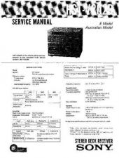 Buy Sony HST-V202R Service Manual by download Mauritron #232072