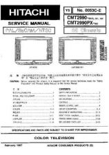 Buy Hitachi CMT-2979-PX Service Manual by download Mauritron #260784