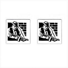 Buy Cufflinks Gangster Mafia Man Retro Art New Cuff Links