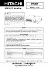 Buy Hitachi PJ-LC5_DE Service Manual by download Mauritron #263734