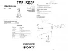 Buy Sony TMR-IF330R[21] Service Manual. by download Mauritron #245568