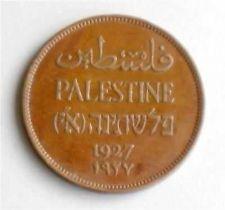 Buy Israel Palestine 2 Mils 1927 Coin XF