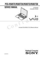 Buy Sony PCG-GRV670-GRV680 Service Manual. by download Mauritron #243329
