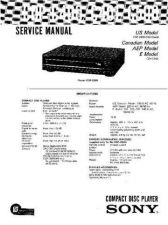 Buy Sony CDP-C360ZCE415 Service Manual by download Mauritron #237277