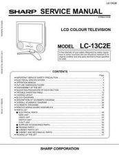 Buy Sharp LC13E1E-15E1E Service Manual by download Mauritron #209812