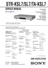 Buy Sony STR-W77 Service Manual. by download Mauritron #245177