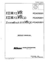 Buy NIKON Zoom Touch 105 Repair Manual by download Mauritron #266261