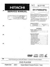 Buy Hitachi DVP705U-E Service Manual by download Mauritron #261801