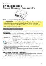 Buy Hitachi CP-S220W DE Manual by download Mauritron #224647