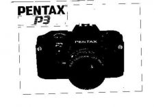 Buy PENTAX P3 CAMERA INSTRUCTIONS by download #119140