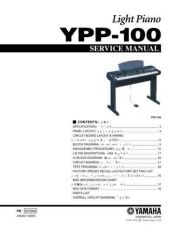 Buy Yamaha YPP100 MAIN Information Manual by download Mauritron #260104