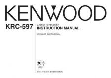 Buy Kenwood KRC608 Operating Guide by download Mauritron #219360