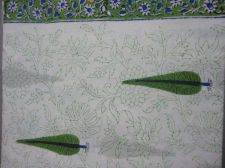 Buy 5 yards Indian Hand Made pure cotton fabric hand block printed natural fabric