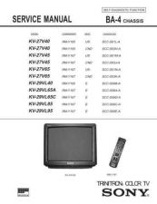 Buy Sony KV-27TW75 Service Manual. by download Mauritron #242258