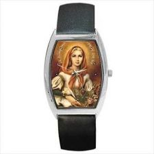 Buy St Dymphna Patron Saint Of Mental Illness Art Watch
