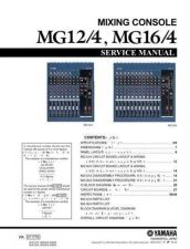 Buy Yamaha MG12 4A 16 4A PCB4 C Manual by download Mauritron #257724