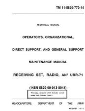 Buy tm5820 771 14 Technical Information by download #116164