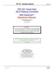 Buy ZTC 521 Manual Rev 4 by download Mauritron #212183