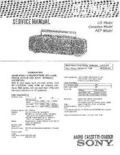 Buy Sony CFS-DW34 Manual-1663 by download Mauritron #228372