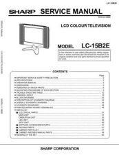 Buy Sharp LC15B2EA Service Manual by download Mauritron #209837