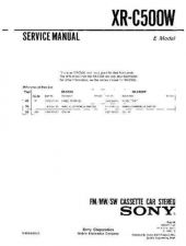 Buy Sony XR-C420RV Service Manual. by download Mauritron #246181