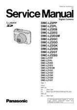 Buy Panasonic DMC-TZ11GK Service Manual by download Mauritron #266949